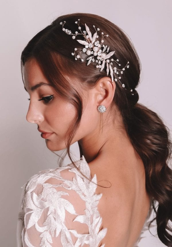 Millie earrings - bridal accessories from leading Wedding dress designer Vinka Design