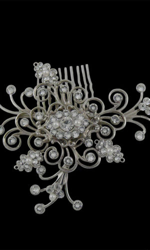 Bethany Swarovski Crystal Hair Comb Headpiece from Vinka Design Wedding Accessories