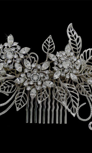 Marjorie Swarovski Crystals Hair Comb Headpiece from Vinka Design Wedding Accessories