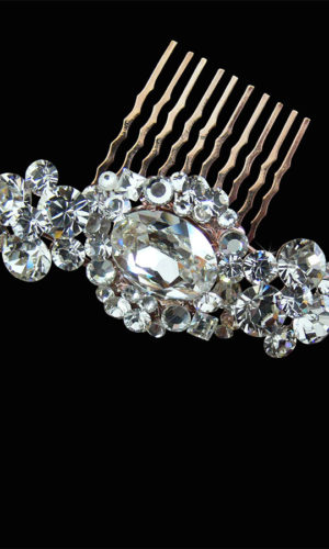 Giada Jewelled Hair Comb Headpiece from Vinka Design Wedding Accessories