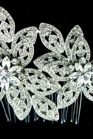 Windsor Bridal Diamante Hair Comb Headpiece from Vinka Design Wedding Accessories