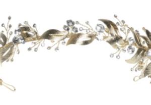 Windsor Bridal Crown Wreath Headpiece from Vinka Design Wedding Accessories