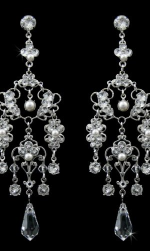 Beyonce Chandelier Earrings from Vinka Design Bridal Accessories