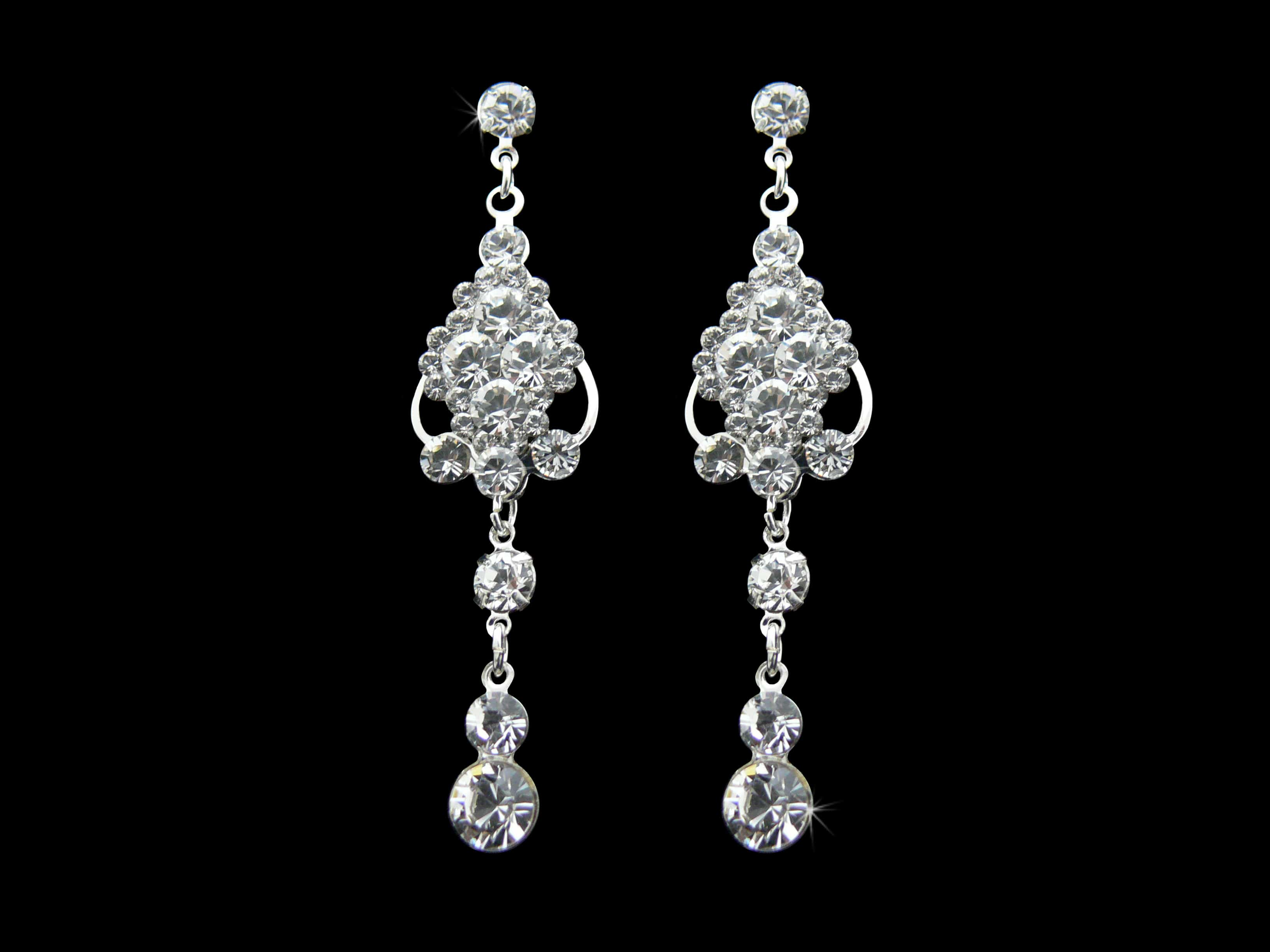 Carolina Drop Earrings from Vinka Design Bridal Accessories