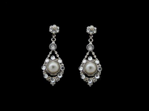 Carys Drop Earrings from Vinka Design Bridal Accessories