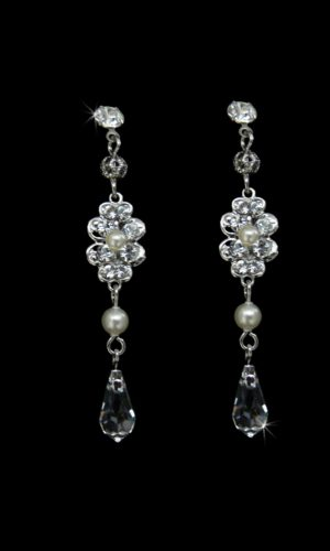 Ruth Drop Earrings from Vinka Design Bridal Accessories