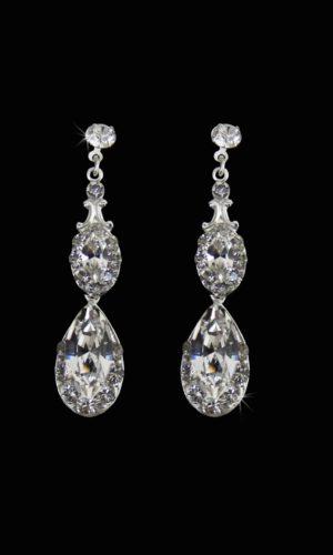 Sia Drop Earrings from Vinka Design Bridal Accessories
