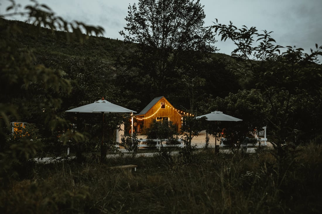 Real Weddings | Vinka Design | Real Brides Wearing Vinka Gowns | Briar and Corey venue in the woods