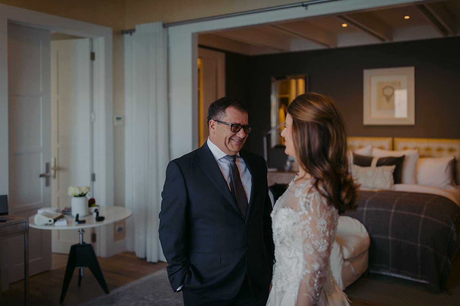 Real Weddings | Vinka Design | Real Brides Wearing Vinka Gowns | Sara and Ben -Sara and family