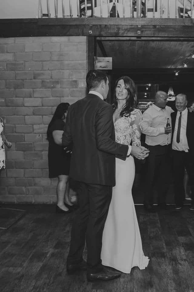 Real Weddings | Vinka Design | Real Brides Wearing Vinka Gowns | Haley and Mike first dance