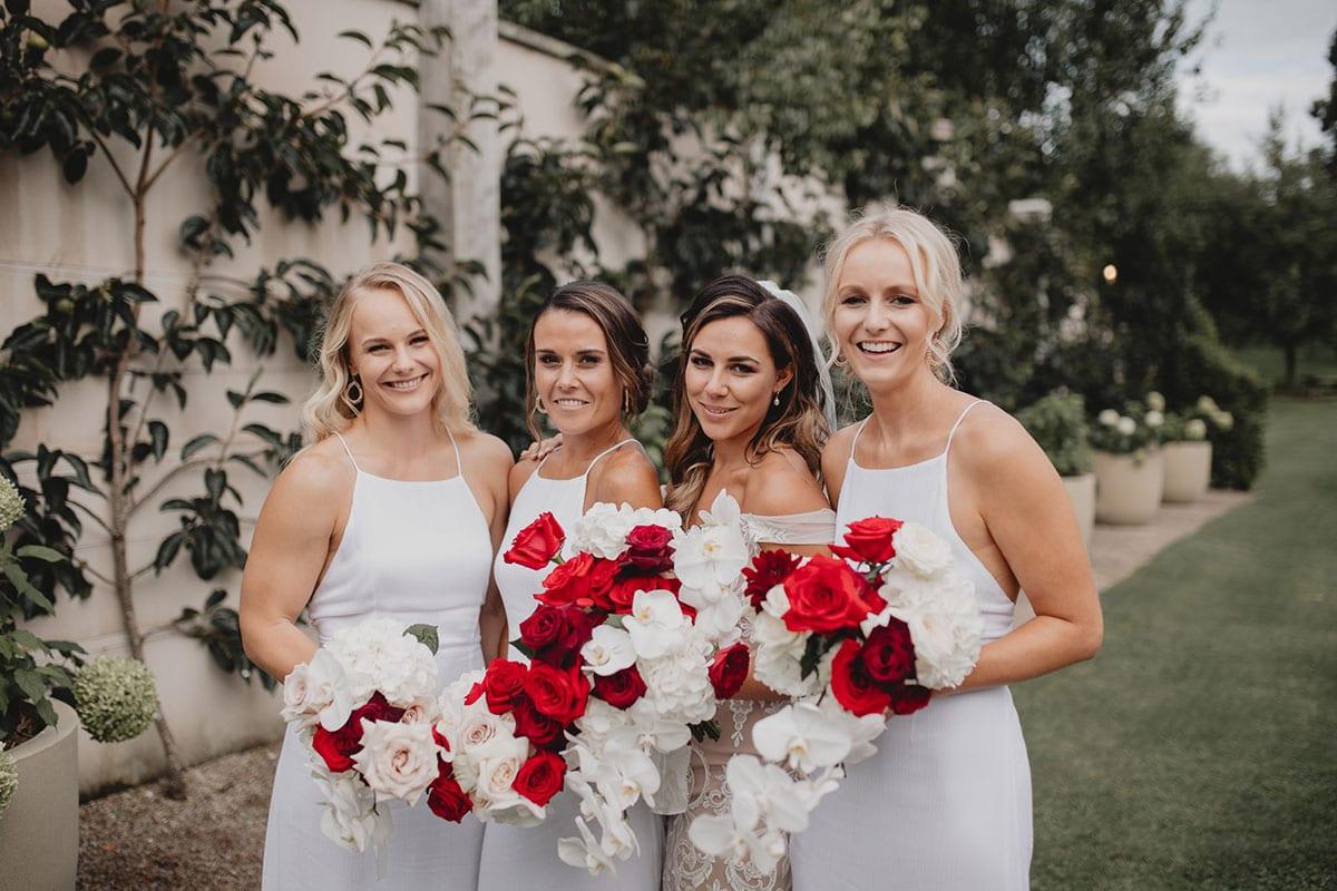 Real Weddings   Vinka Design   Real Brides Wearing Vinka Gowns   Amber and Rhys bridesmaids