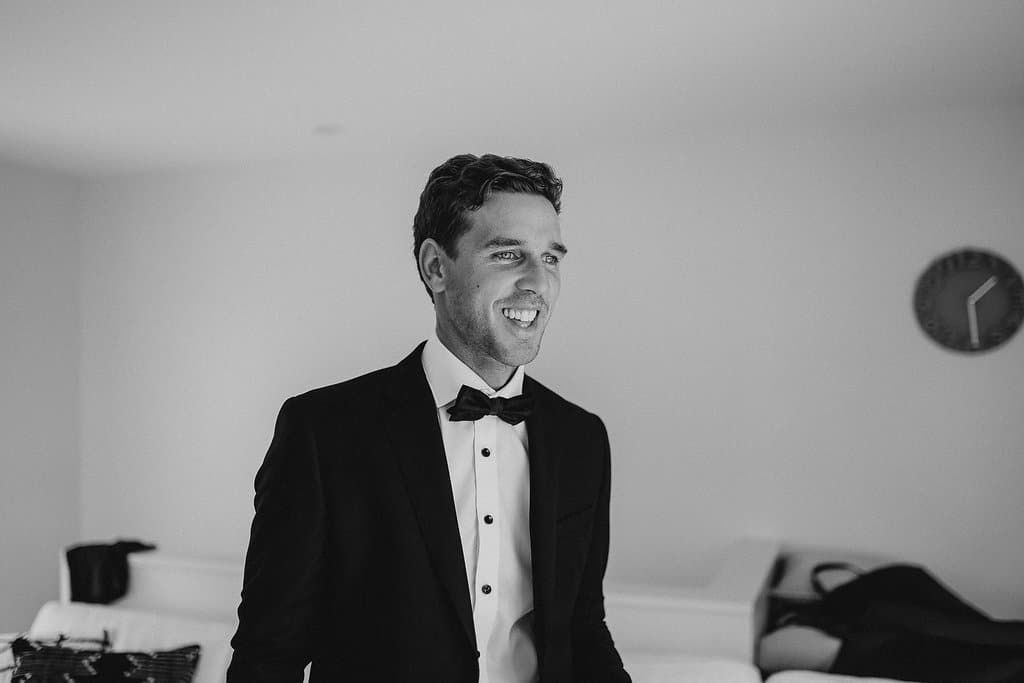 Real Weddings   Vinka Design   Real Brides Wearing Vinka Gowns   Amber and Rhys - Rhys in black and white