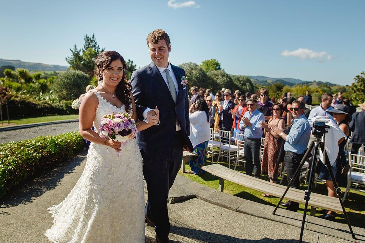 Real Weddings | Vinka Design | Real Brides Wearing Vinka Gowns | Ayesha and Nick wedding in Plume gardens