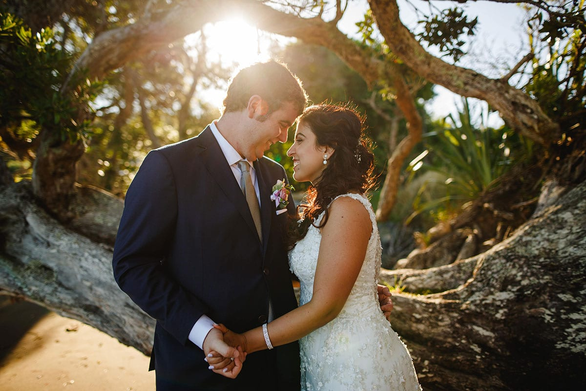 Real Weddings | Vinka Design | Real Brides Wearing Vinka Gowns | Ayesha and Nick in Plume gardens in Matakana