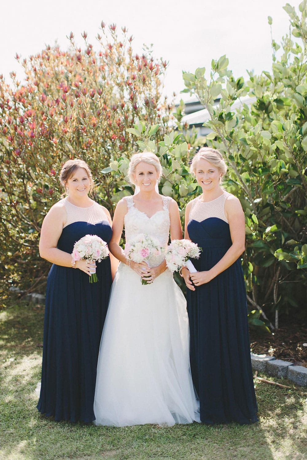 Real Weddings | Vinka Design | Real Brides Wearing Vinka Gowns | Louise and Ryan - Louise with bridesmaids