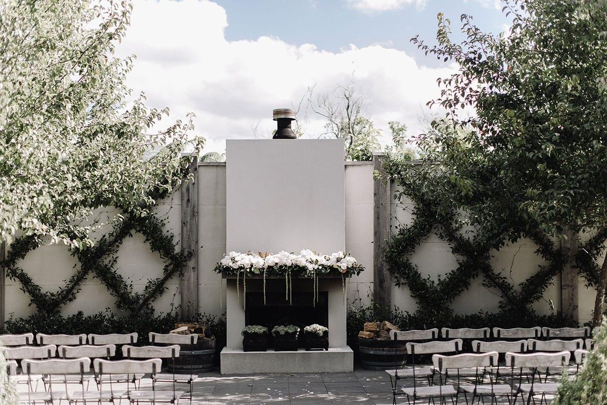 Real Weddings | Vinka Design | Real Brides Wearing Vinka Gowns | Candice and Michael wedding venue Ataahua Gardens in Tauranga