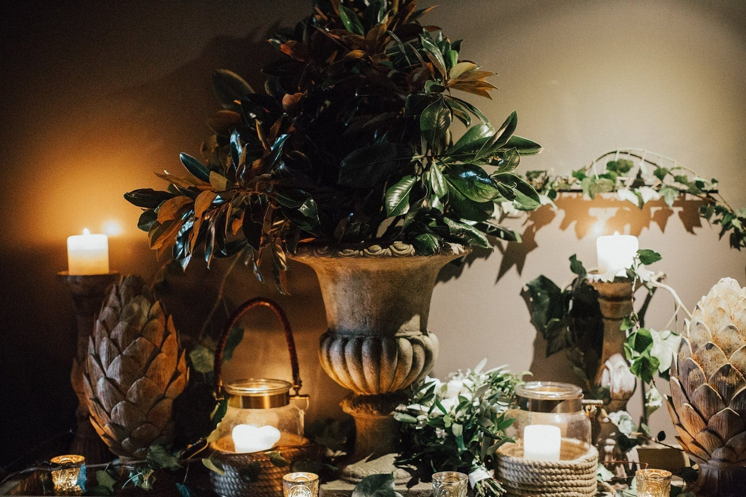 Real Weddings | Vinka Design | Real Brides Wearing Vinka Gowns | Hannah and Campbell - reception table