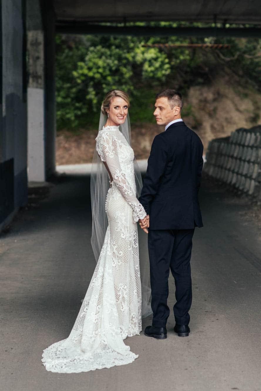 Haley & Tonchi REAL WEDDING IN A VINKA DESIGN DRESSZ