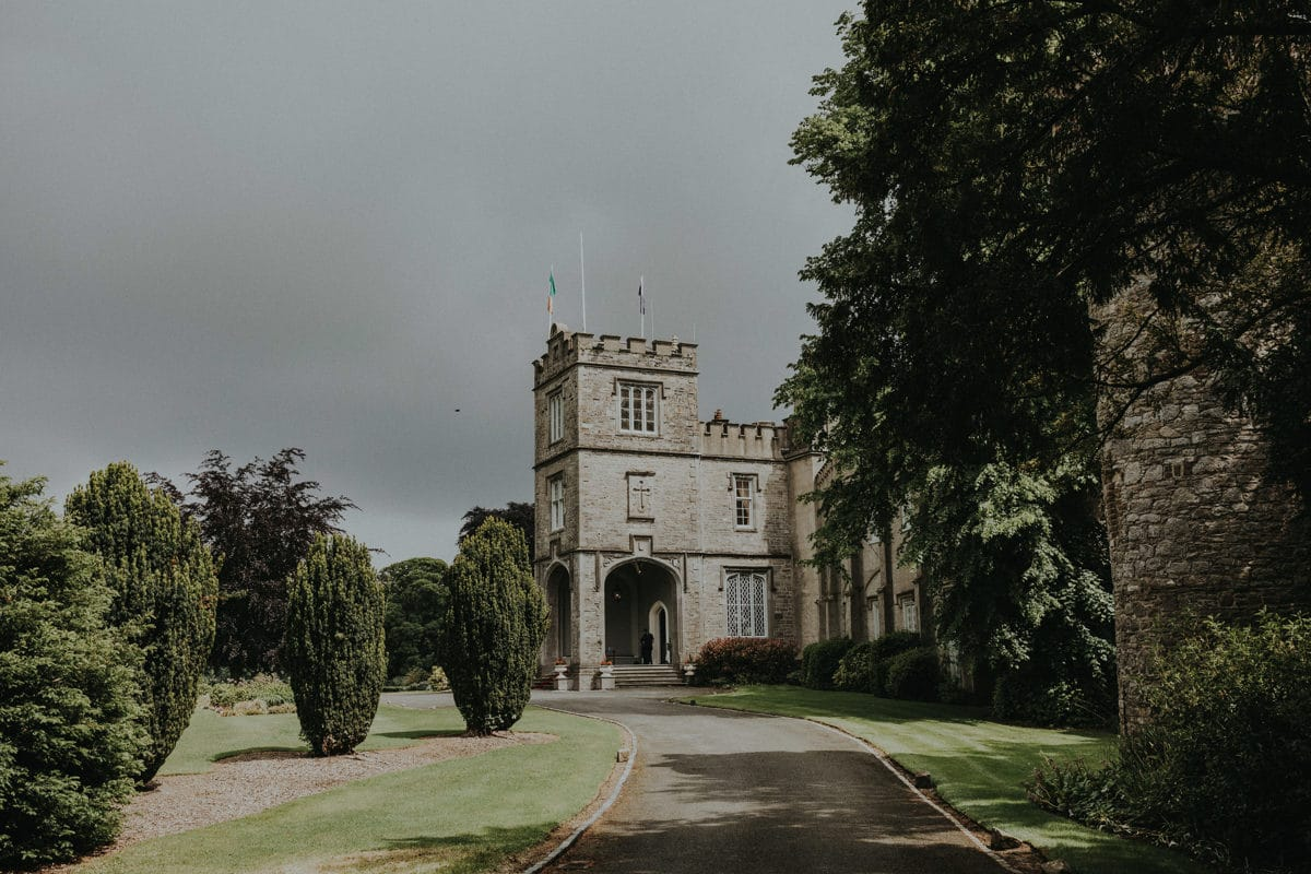 Real Weddings | Vinka Design | Real Brides Wearing Vinka Gowns | Paige and Ciaran - Irish Castle venue