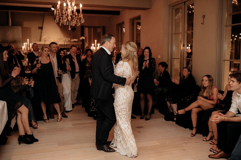 Vinka Design Features Real Weddings - Vinka Design Features Real Weddings - first dance - bride in Vinka custom made gown full length