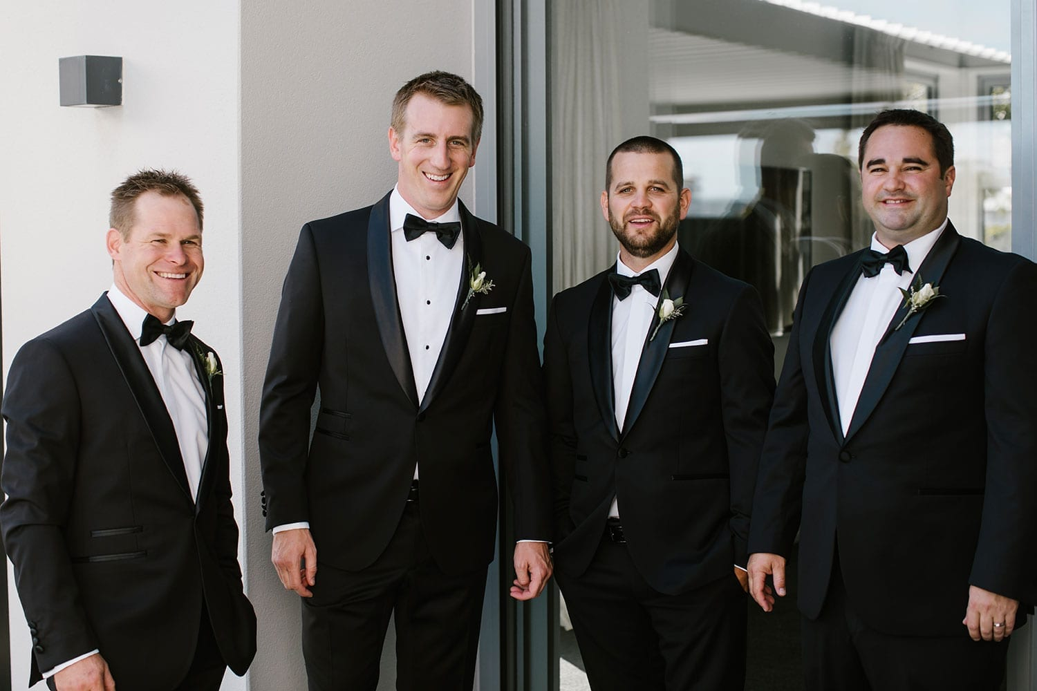 Vinka Design Features Real Weddings - Grooms party - Sarah and Cam wedding