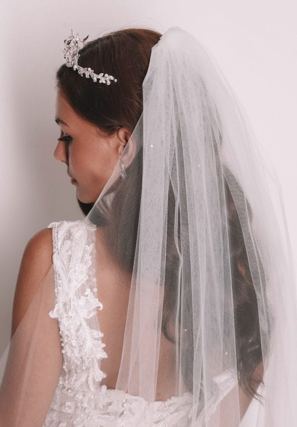 Vinka Design Bridal Accessories - Bridal veil - Alessandra - custom made veil available from Vinka Design Auckland bridal store.