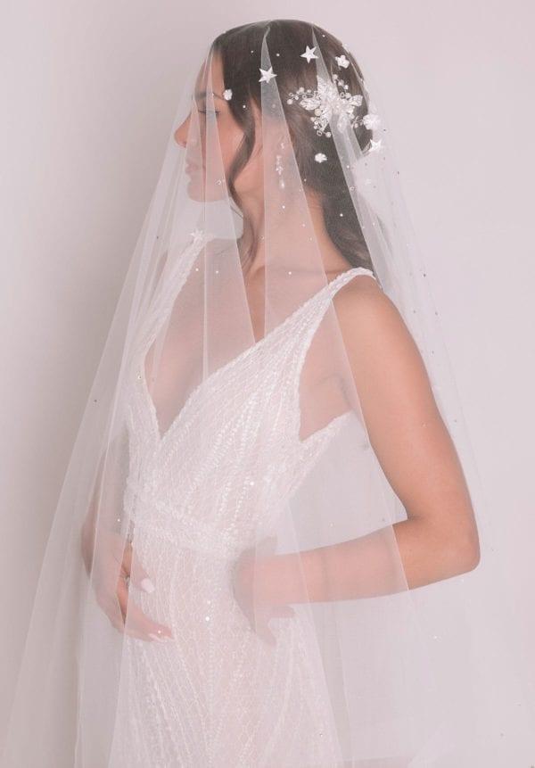 Vinka Design Bridal Accessories - Bridal veil - Verona - custom made veil available from Vinka Design Auckland bridal store.