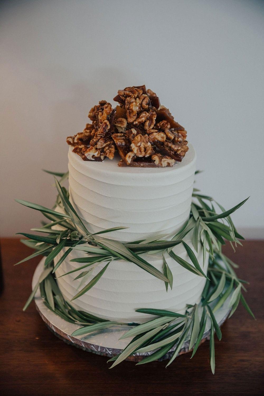 Vinka Design Features Real Weddings - wedding cake