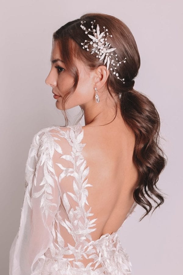 Vinka Design Bridal Accessories - Bridal headpiece - Madison - available from Vinka Design Auckland bridal store.