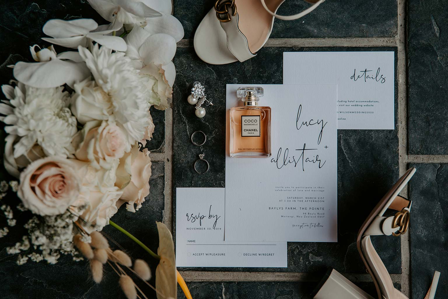 Vinka Design Features Real Weddings - invitations and flowers