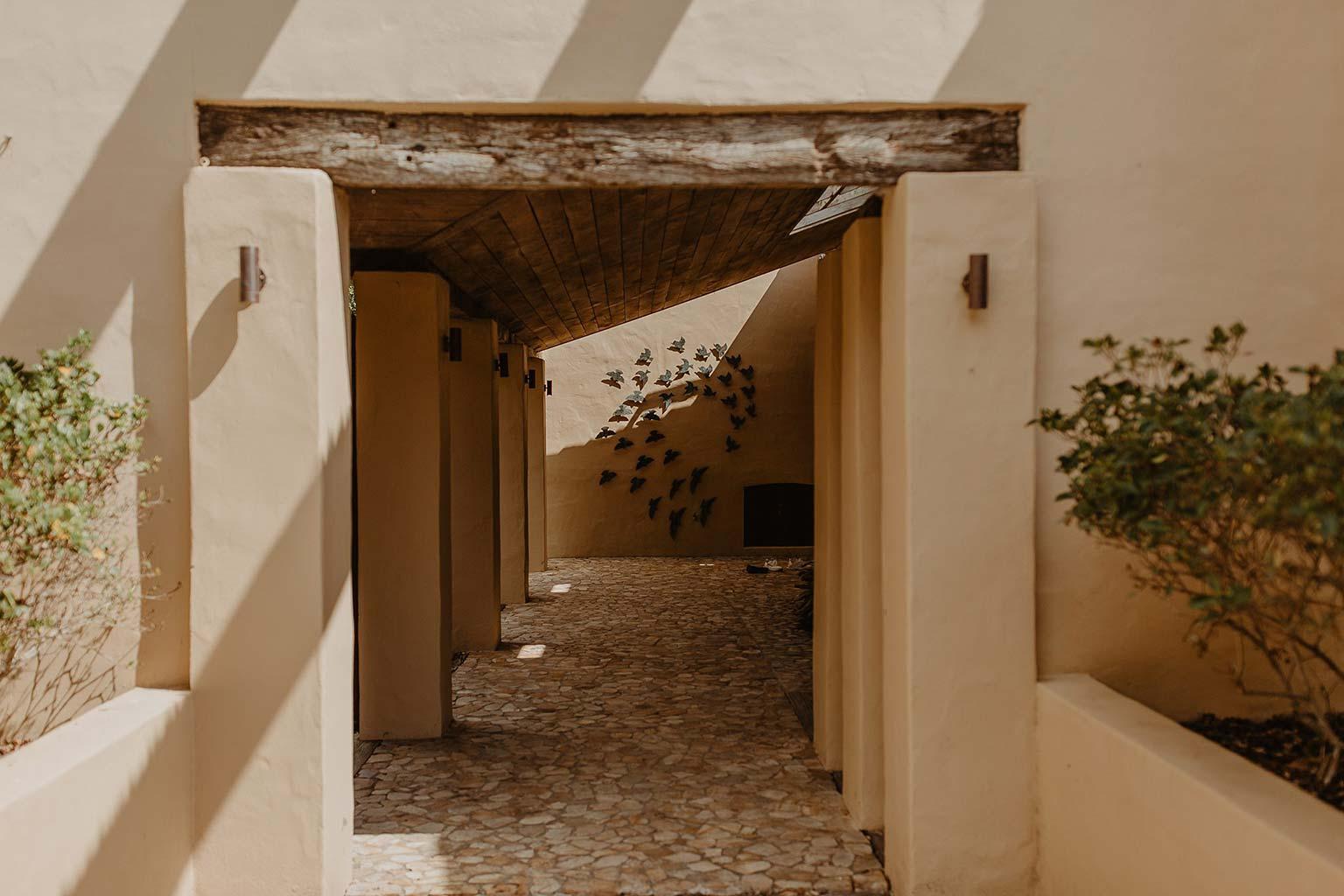 Vinka Design Features Real Weddings - Mudbrick Vineyard archways