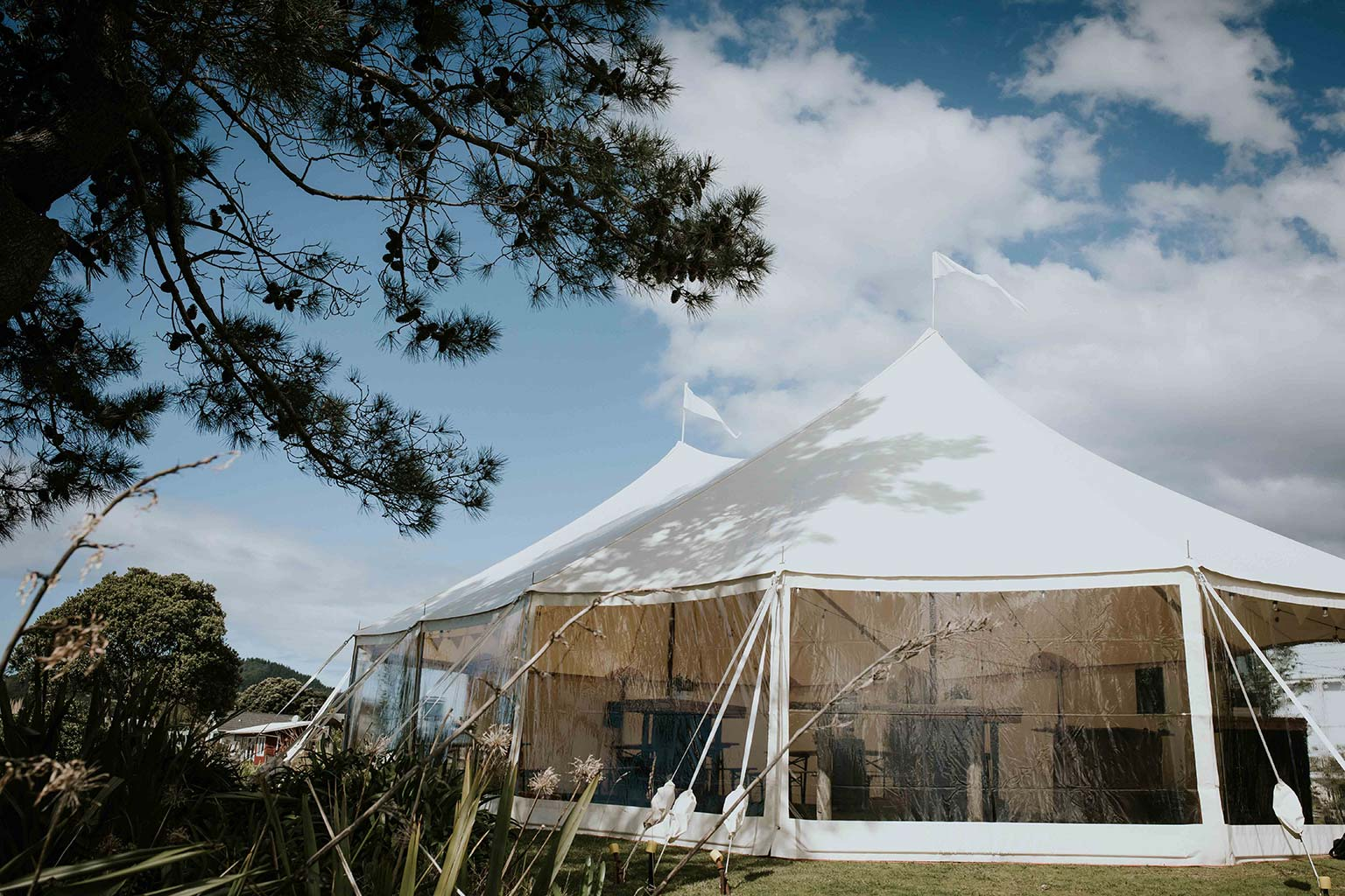 Vinka Design Features Real Weddings - reception marquee