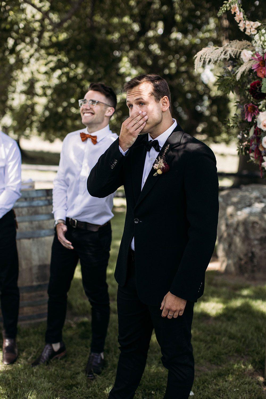 Cam and Katie - groom and groomsmen