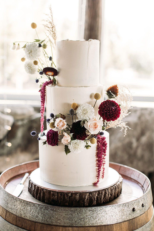 Cam and Katie - wedding cake
