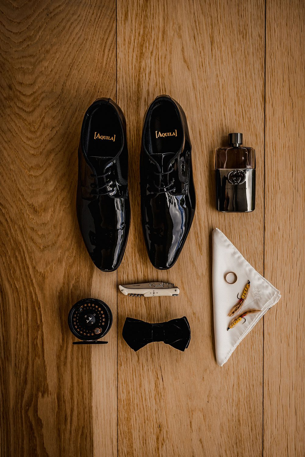 Emore and Hamish - grooms accessories