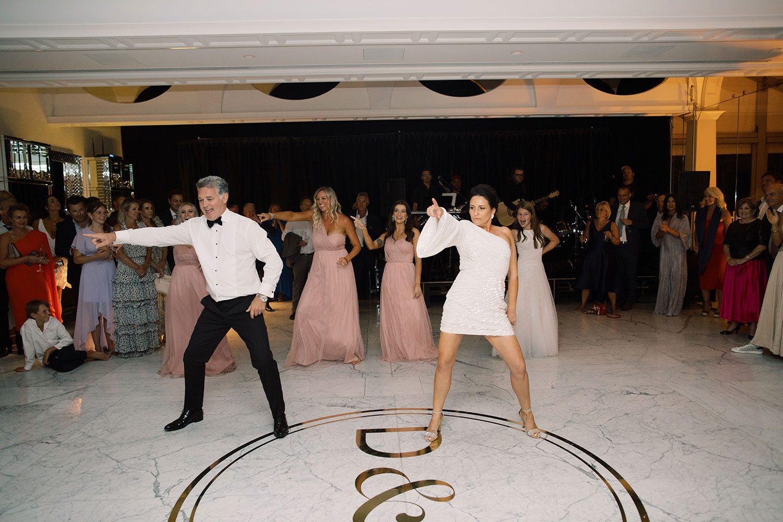 Fiona and David - dancing
