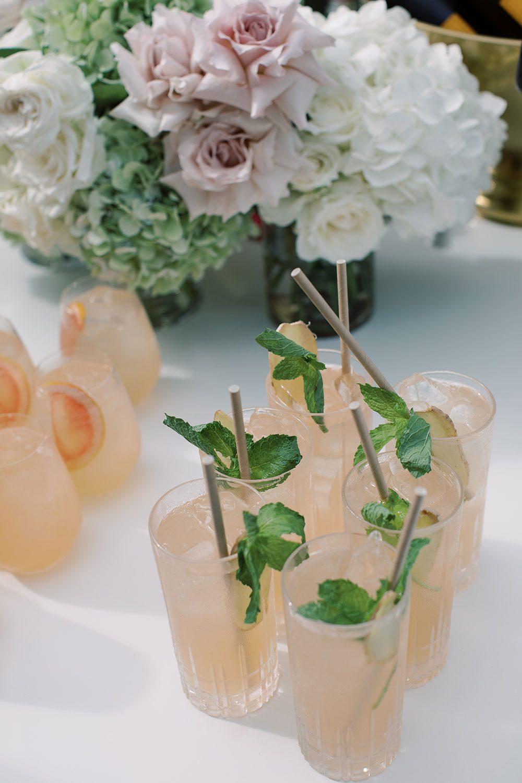 Fiona and David - cocktails