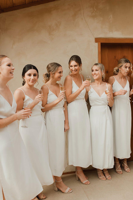 Rachel and Leon - bridesmaids